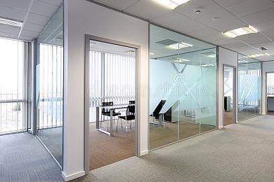 glass offices
