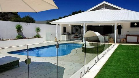 Glass Fence for Swimming Pool